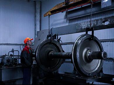 Капитальный ремонт колесных пар