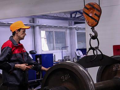 Современное оборудование для восстановления профиля катания поверхности колесной пары на колёсотокарном станке