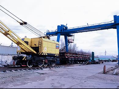 Участок текущего отцепочного ремонта вагонов (условный номер клеймения 4309) расположен на Омском регионе Западно-Сибирской железной дороги с путем необщего пользования, примыкающим к ст. Карбышево-I